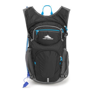 HydraHike 16L Pack in the color Black/Slate/Pool.