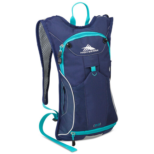 High Sierra Classic 2 Series Propel 70W Hydration Pack in the color True Navy/Tropic Teal.