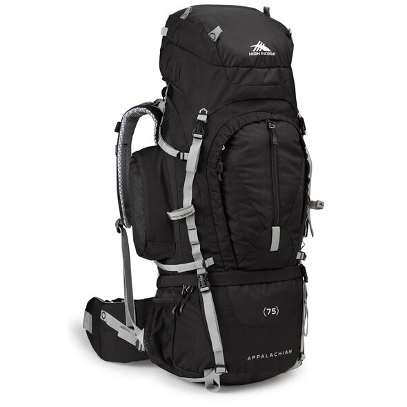 High Sierra Classic 2 Series Appalachian 75 Frame Pack in the color Black/Silver.
