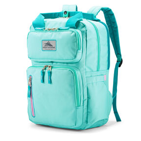 High Sierra Mindie Backpack in the color Aquamarine/Turquoise/Iced Lilac.