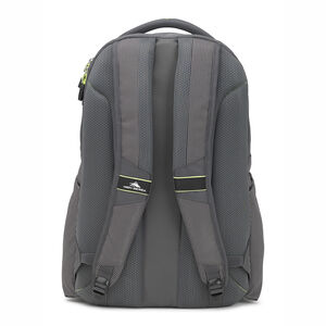 Autry Backpack in the color Mercury/Zest.