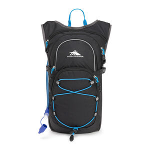 HydraHike 8L Pack in the color Black/Slate/Pool.