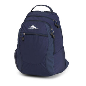 High Sierra Curve Backpack in the color True Navy.