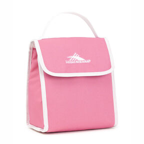 High Sierra Classic Lunch Kit in the color Pink Lemonade/White.