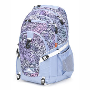 High Sierra Loop Backpack in the color Effervescent/Flamingo.