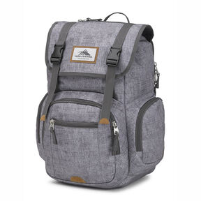 High Sierra Emmett 2 Backpack in the color Woolly Weave/Slate/Lime.