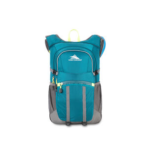 HydraHike 20L Pack in the color Lagoon/Slate/Zest.