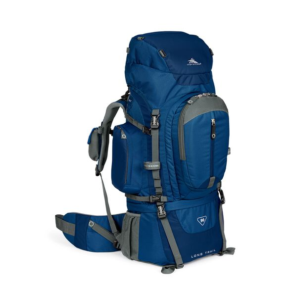 High Sierra Long Trail 90 Internal Frame Pack in the color Pacific/Nebula.