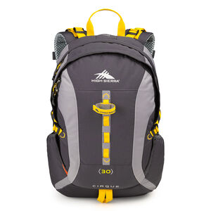 Classic 2 Series Cirque 30L Framepack in the color Mercury/Ash/Yellow.