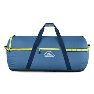 """Packed Cargo Duffles 36"""" Large Duffel in the color Graphite Blue/Rustic Blue/Glow."""