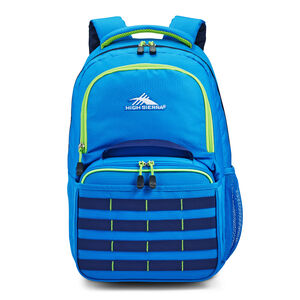 Joel Lunch Kit Backpack in the color Sports Blue/True Navy/Lime.