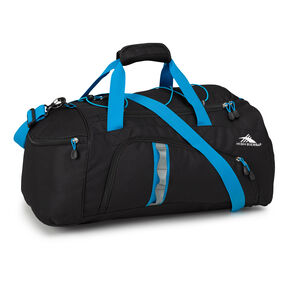 High Sierra Cross Sport Duffels Jitter Duffel in the color Black/Pool.