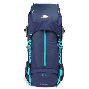 Classic 2 Series Summit 40W Frame Pack in the color True Navy/Tropic Teal.