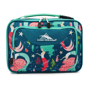 Single Compartment Lunch Bag in the color Mermaid.