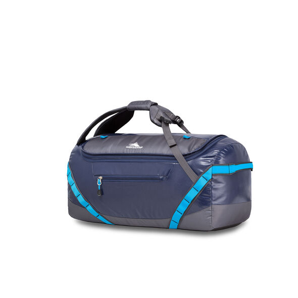 "High Sierra Kennesaw 24"" Sport Duffel in the color True Navy/Mercury/Pool."