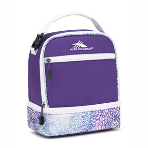 High Sierra Stacked Compartment in the color Flower Daze/Deep Purple/White.