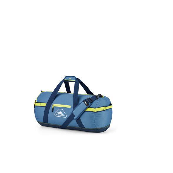"""High Sierra Packed Cargo Duffles 20"""" X-Small Duffel in the color Graphite Blue/Rustic Blue/Glow."""
