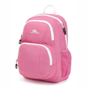 High Sierra Pinova Backpack in the color Pink Lemonade/White.