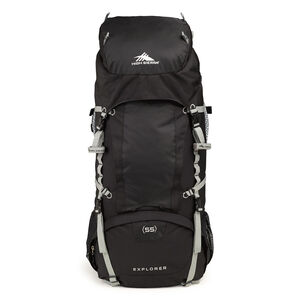 Classic 2 Series Explorer 55 Frame Pack in the color Black/Silver.
