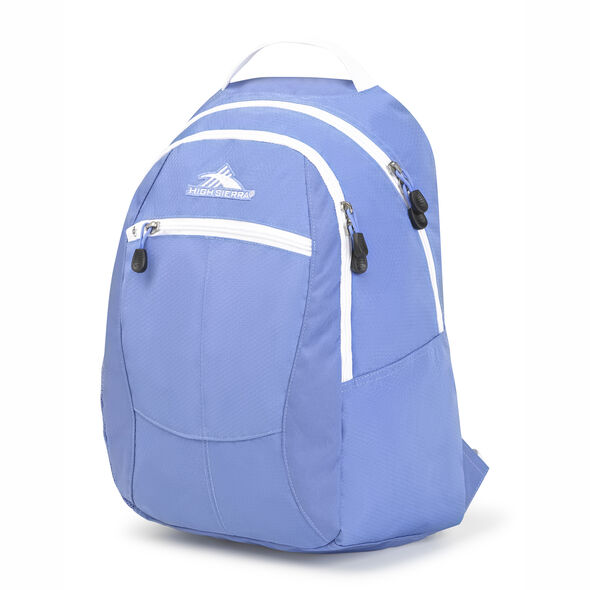 High Sierra Curve Backpack in the color Lapis/White.