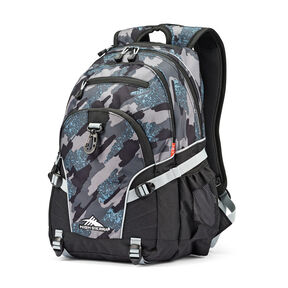 High Sierra Loop Backpack in the color Graffiti/Black/Ash.