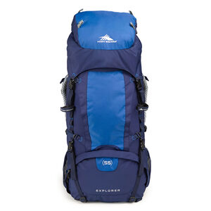 Classic 2 Series Explorer 55 Frame Pack in the color True Navy/Royal.