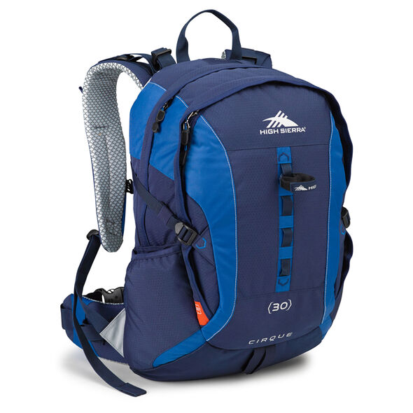 High Sierra Classic 2 Series Cirque 30L Framepack in the color True Navy/Royal.