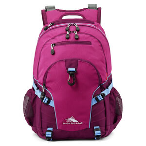 Loop Backpack in the color Razzmatazz/Plum.