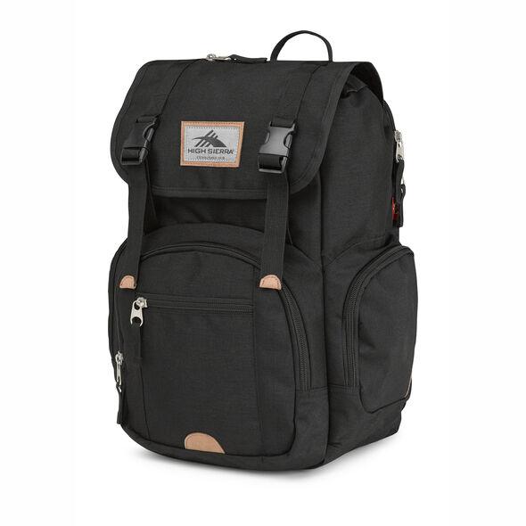 High Sierra Emmett 2 Backpack in the color Black.
