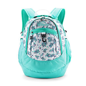 Fatboy Backpack in the color Star Floral/Aquamarine/White.