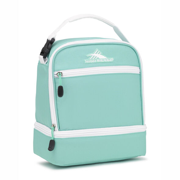 High Sierra Stacked Compartment in the color Aquamarine/White.