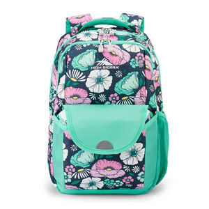 Ollie Lunchkit Backpack in the color Floral Indigo Blue.