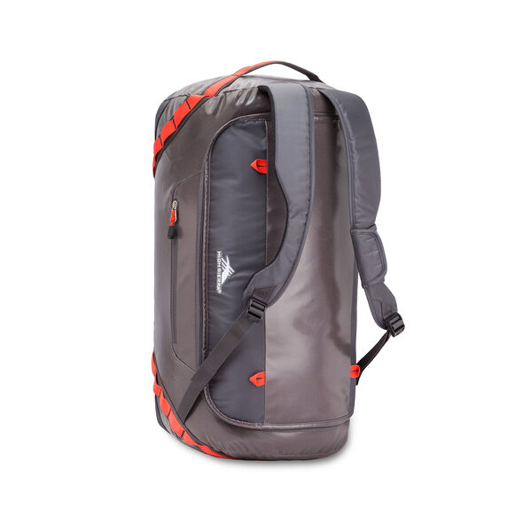 "High Sierra Kennesaw 24"" Sport Duffel in the color Charcoal/Mercury/Redline."