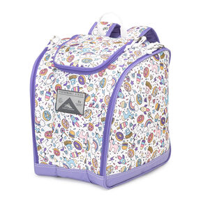 High Sierra Junior Trapezoid Boot Bag in the color Sweet Cakes/ Lavender/White.