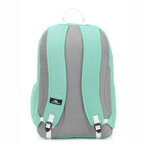 Pinova Backpack in the color Aquamarine/Ash/White.