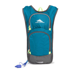 HydraHike 4L Pack in the color Lagoon/Slate/Zest.