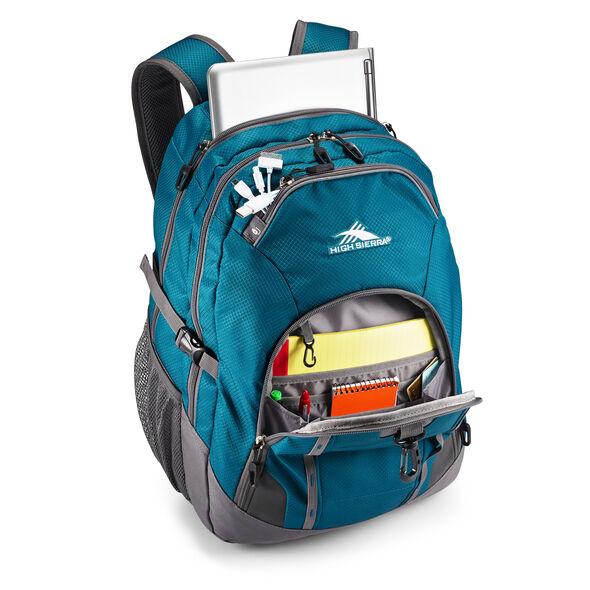 High Sierra Vesena Backpack in the color Lagoon.