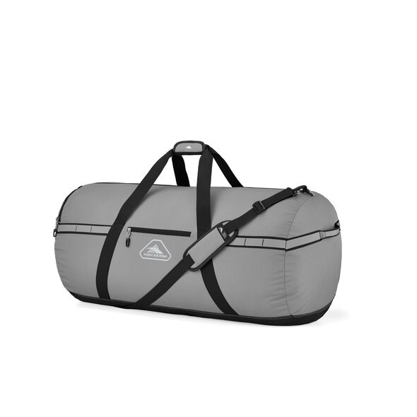 "High Sierra Packed Cargo Duffles 30"" Medium Duffel in the color Charcoal/Black."