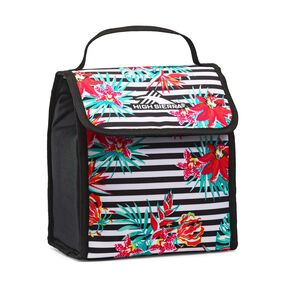 High Sierra Classic Lunch Kit in the color Tropical Stripe/Black.