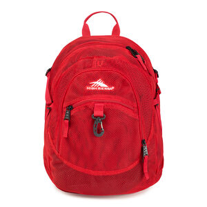 Airhead Backpack in the color Crimson.