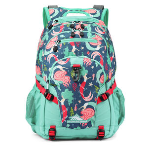 Loop Backpack in the color Mermaid.