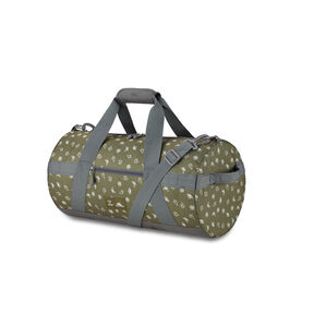 Life Is Good Cargo Duffel Nature in the color Fatigue Green/Slate Grey Nature.