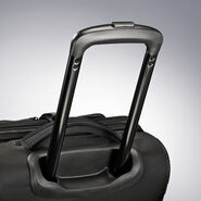 """High Sierra Dells Canyon 28"""" Wheeled Duffel in the color Black/Black."""