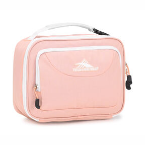 High Sierra Single Compartment in the color Sand Pink/White.