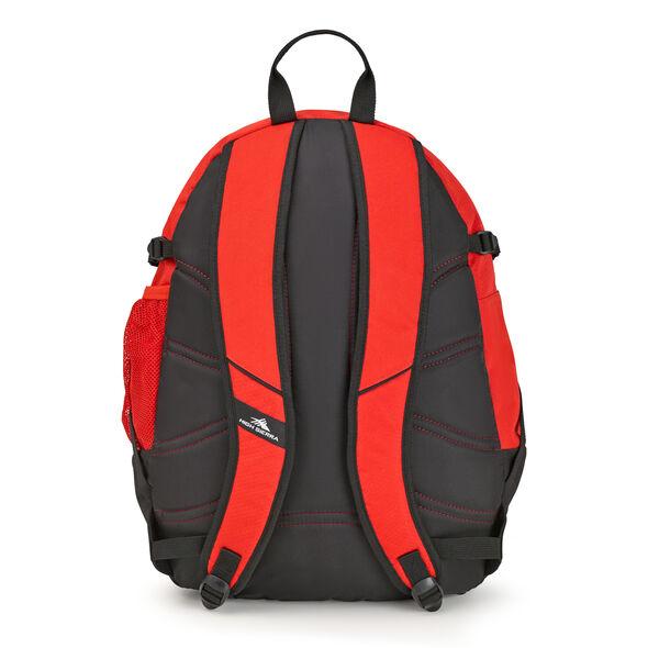 High Sierra Fatboy Backpack in the color Crimson/Black.