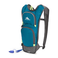 High Sierra HydraHike 4L Pack in the color Lagoon/Slate/Zest.