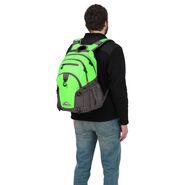 High Sierra Loop Backpack in the color Lime/ Slate.