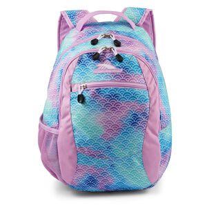 Curve Backpack in the color Rainbow Scales.