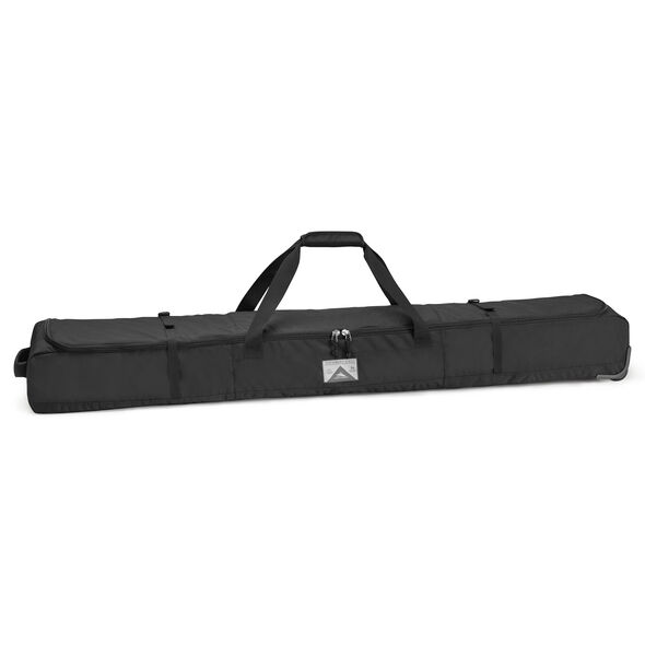 High Sierra 170cm Wheeled Double Ski Bag in the color Black.