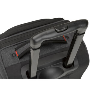 Endeavor Wheeled Underseat Carry-On in the color Mercury Heather.